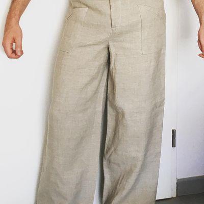 Pantalon en lin pour Homme