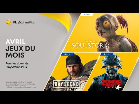 [ACTUALITE] PlayStation - Les jeux PlayStation Plus d'avril 2021
