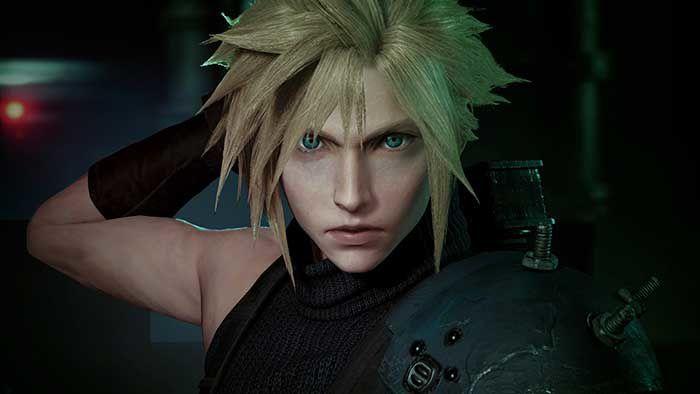 Final Fantasy VII Remake sur #PS4 !