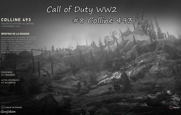 [Let's Play] Call Of Duty WW2 : Colline 493