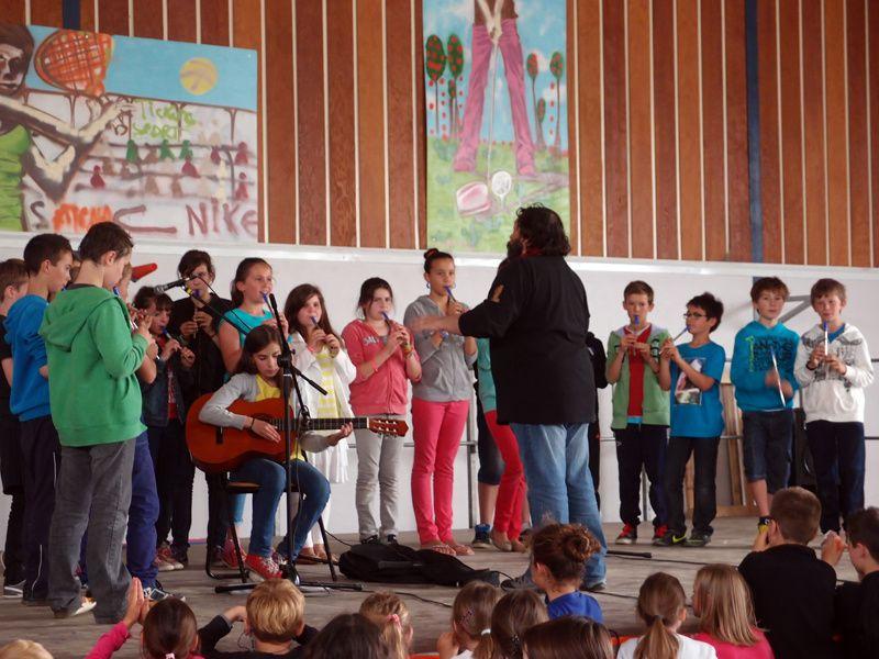 Spectacle de l'école Dolto 2013, Kervignacd