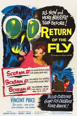 Le Retour de la mouche de Edward Bernds