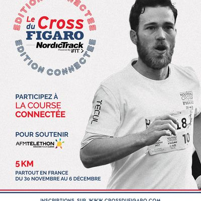 le Cross du Figaro NordicTrack en version connectée du 30 Nov au 6 Déc. 2020