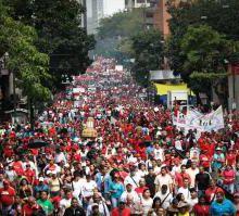 manifestations de masse au Venezuela à la suite de l'approbation de la loi contre les surprofits et la spéculation