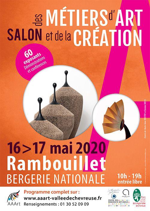 Exposition avec l'AAART à la bergerie du château de Rambouillet mai 2020