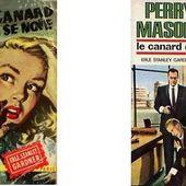 Erle Stanley Gardner : Le canard qui se noie (Un Mystère, 1954) - Le blog de Claude LE NOCHER