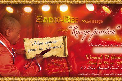 Défilé de Sadio Bee le 17 février a Paris...