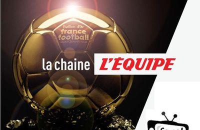 [Foot] La Cérémonie du Ballon d'Or ce lundi sur la chaîne l'Equipe !