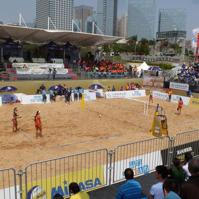 COUPE DUMONDE BECH-VOLLEY.