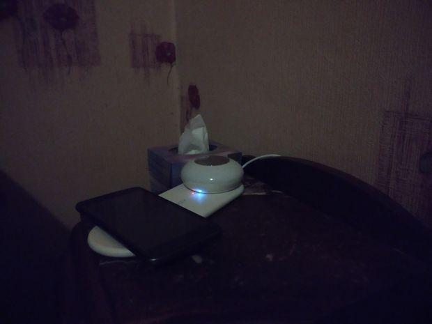 test du chargeur sans fil Qi avec veilleuse LED amovible - Aukey LT-ST26 @ Tests et Bons Plans