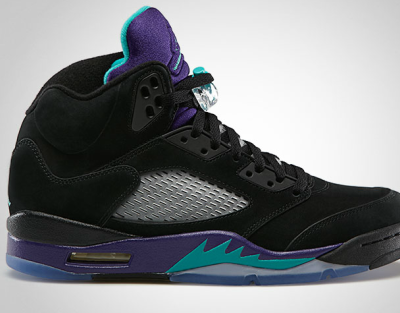 AJ 5 Black Grape
