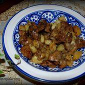 Poelée de foie et pomme de terre aux garam massala - PETITS-PLAISIRS