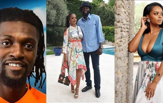 Emmanuel Adebayor et Dillish Mathews se séparent