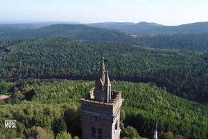 Le Rocher de Dabo et le Falkenfels