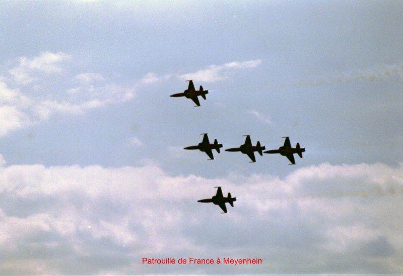 La patrouille de France à Meyenheim