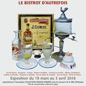 Expo Collection-Passion 2016: Le bistrot d'autrefois - Collection-Passion Etampes