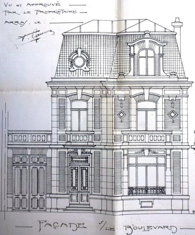 4 boulevard Vauban. Georges Trassoudaine et Jules Déprez, architectes, 1923 (détail).