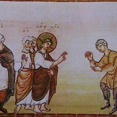 Jésus face aux lépreux