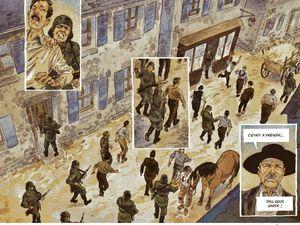 Damien Cuvillier dessine Les Souliers rouges