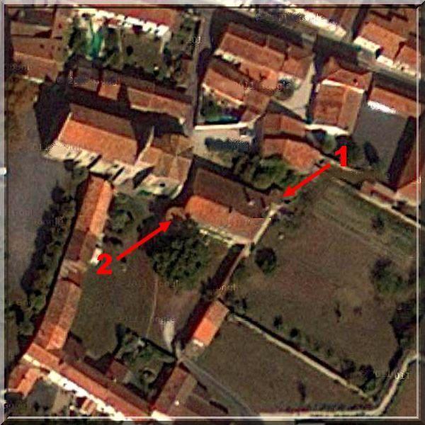 Diaporama maison forte et église fortifiée de Genouilé