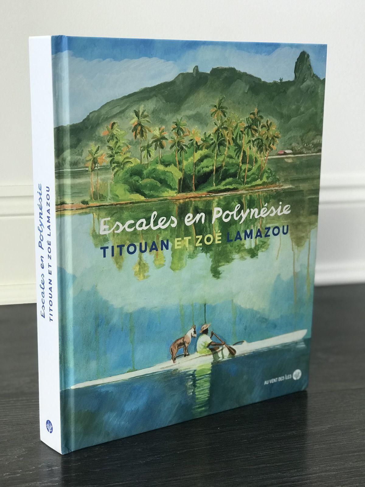 Escales en Polynésie de Titouan et Zoé LAMAZOU