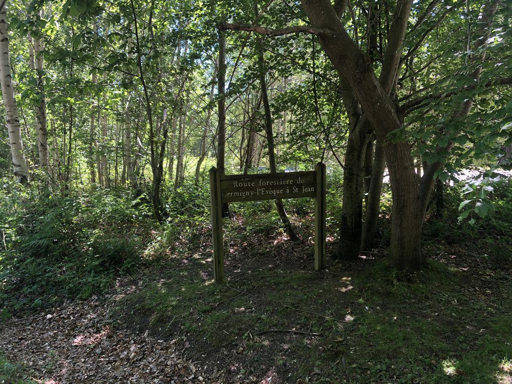 Randonnée de Lizy-sur-Ourcq à Changis-sur-Marne, 21 km.