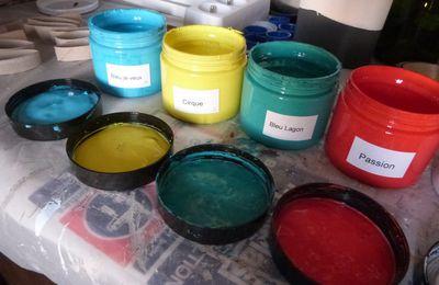 Ma palette de couleurs...