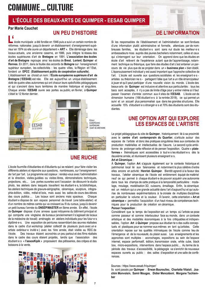 Découvrez le Rouge Finistère n°6, automne 2020