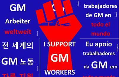 We're going on strike till they get this sh*t right  !           Un appel à pousuivre la grève chez GM