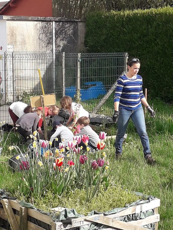 Création d'un jardin autour des sens