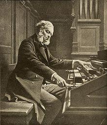 César Franck Arrangement du Psaume CL pour chœur et deux orgues