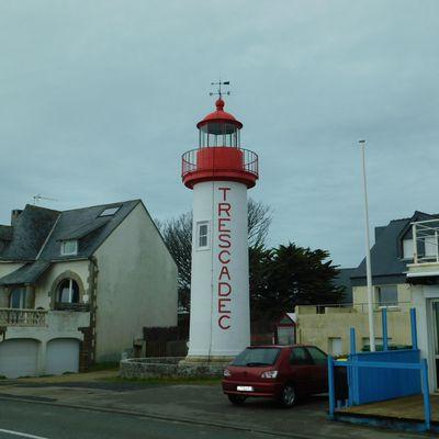 Les phares de Trescadec et de Kergadec