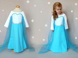 Nouveau: sequins pour les robes de Reine des neiges!