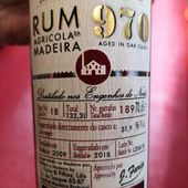 Rum Madère single cask - Passion du Whisky