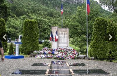 St Julien du Verdon  : commémoration du 11 juin 1944 (restreinte)