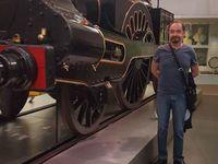 Exposition sur l'histoire des machines à vapeur au science museum de Londres. Rail club Terrug presqu'ile