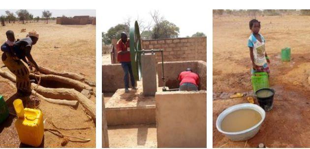 Pour prendre conscience de la nécessité de l'eau potable ...