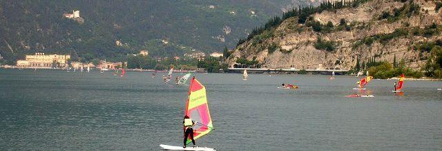 Du sport...sur le lac de Garde