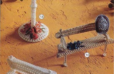 Miniatures originales au crochet