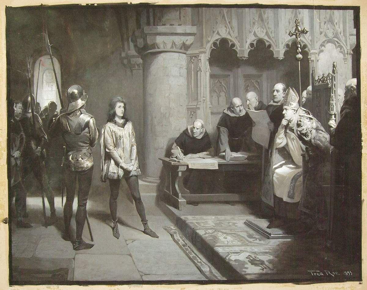 Jeanne d'Arc : le procès (1)