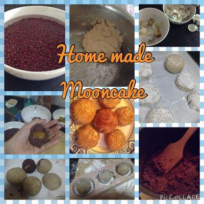 Gâteaux de la lune maison - Home-made mooncakes - 自製月餅