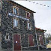 La gare de Solignac sur Loire - L'Auvergne Vue par Papou Poustache