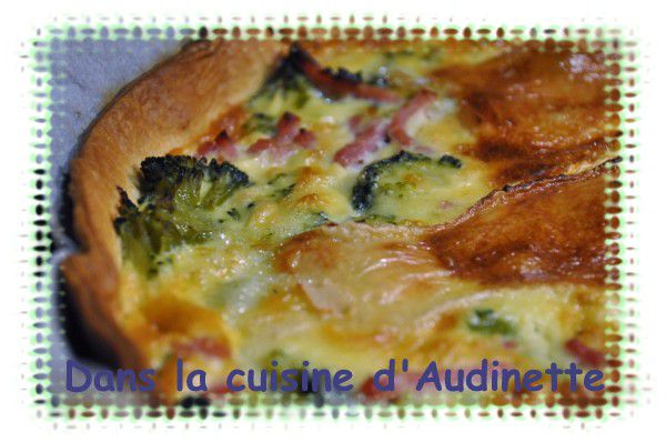 Quiche BB (Brocoli, Brie)