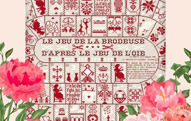 """SAL """"JEU DE LA BRODEUSE"""" DE JL. GRANDSIRE - 9ÈME OBJECTIF TERMINE - 1 NOUVELLE PHOTO"""