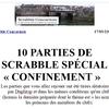 """Livret N° 2 parties scrabble """"spécial"""" confinement"""