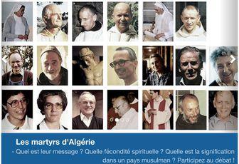 LES MARTYRS D'ALGÉRIE AVEC MGR VESCO