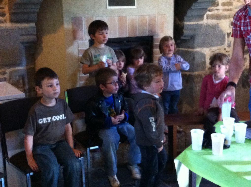 Présentation par les étudiants du Gros Chêne, visite et dégustation de produits.