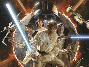 Les couvertures du Star Wars n°4 de Panini