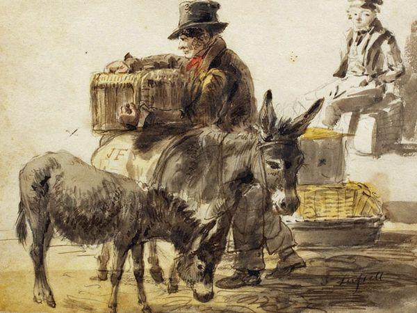 Evolution corporative : le colporteurs autrefois se déplaçait à pieds parfois accompagné d'un âne ou d'un mulet il a fait place au VRP (Voyageur Représentant Placier) - Dans  les années 60-70, mon père faisait ses tournées en Mercedes  et moi en 4L... mentionnons encore que ces deux voitures étaient de couleur Verte...