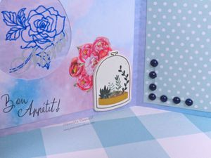 Menu - Pâques - 2020 - Scan N Cut - Strass - Stickers - Oeufs - Foil Quill - Foil - Noeud - Printemps